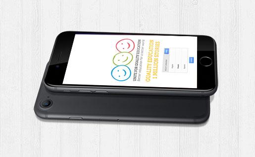 A million voices for quality education app
