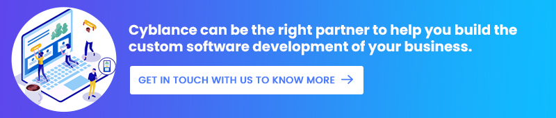 build the custom software development of your business