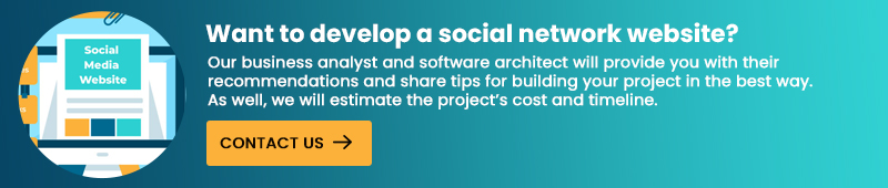 Want to develop a social network website?
