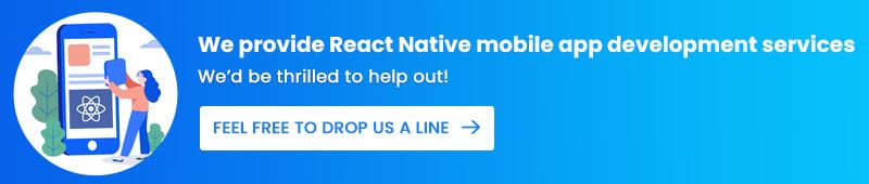 React Native mobile app development services