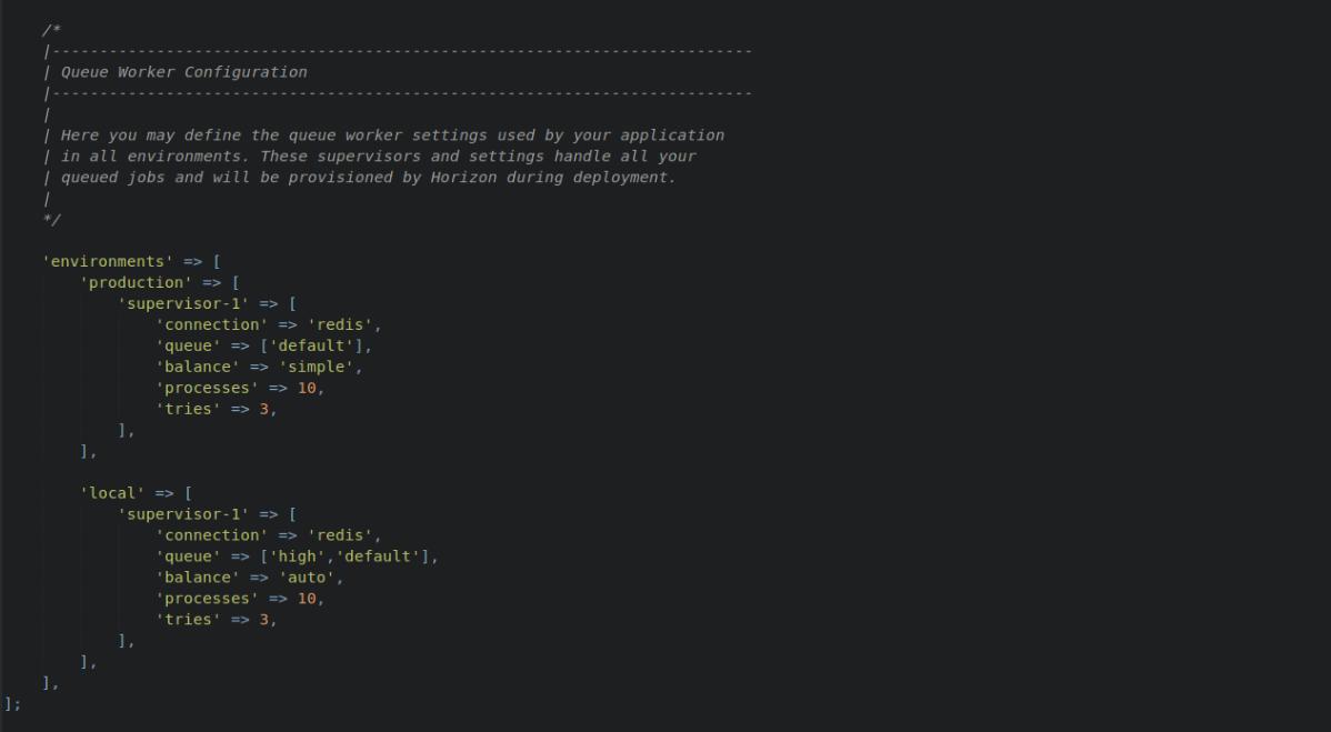 Code-driven configuration