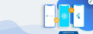 Which One is the Best Hybrid Mobile App Framework: Ionic v/s ReactNative v/s Flutter