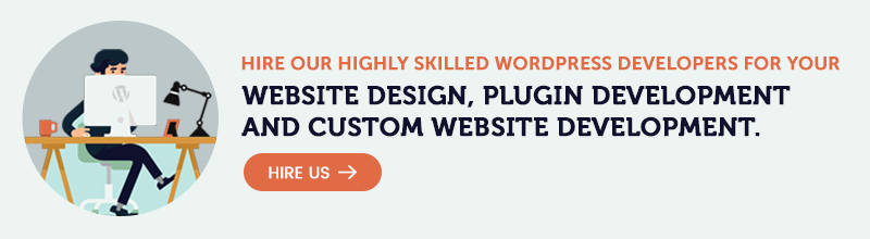 Hire WordPress Developer Banner