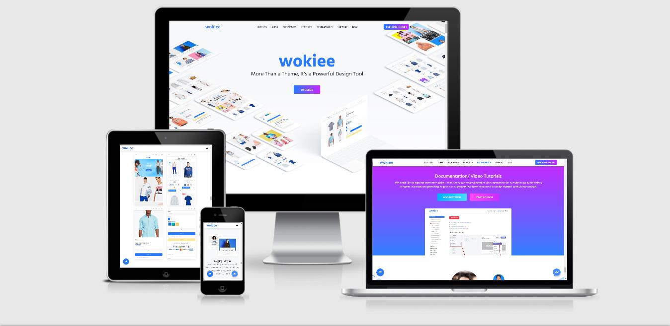 shopify wokiee