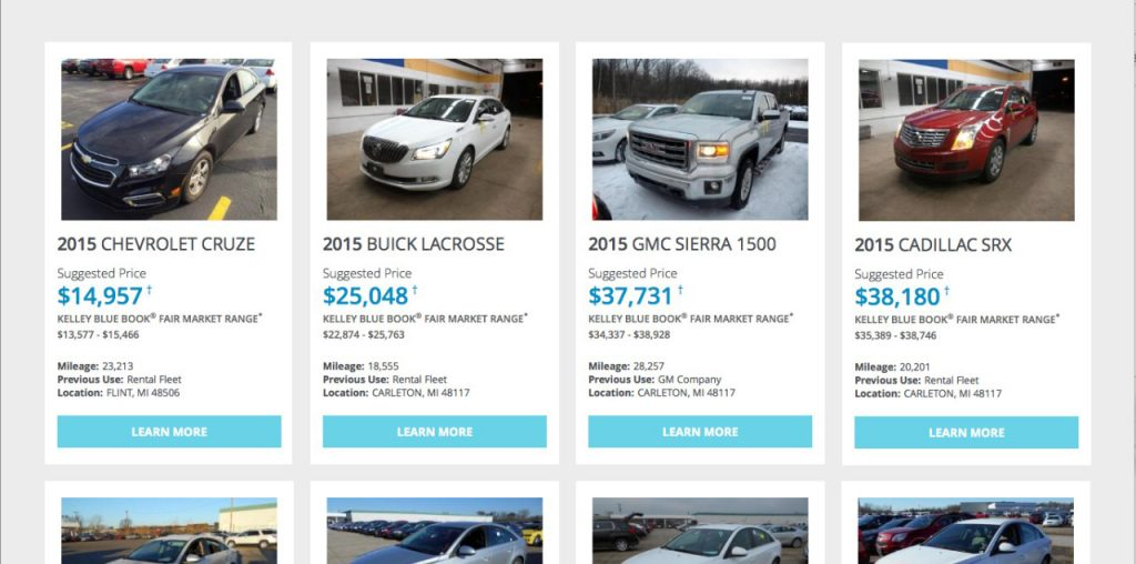 Practice the Principles of Perfect Pricing car dealer website
