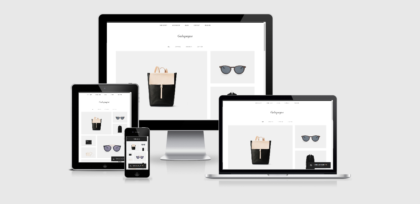 Galapagos – eCommerce Squarespace template