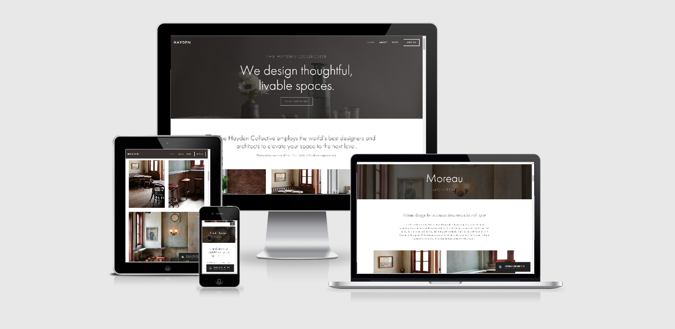 Hayden – Agency Squarespace template