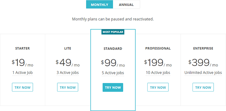 Wix Monthly Plan