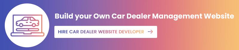 Build Car Dealer Website