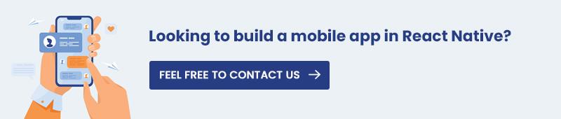 Build mobile app in React native