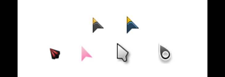 Custom cursors