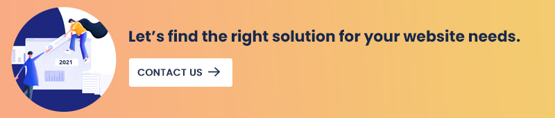 right solution for your website needs